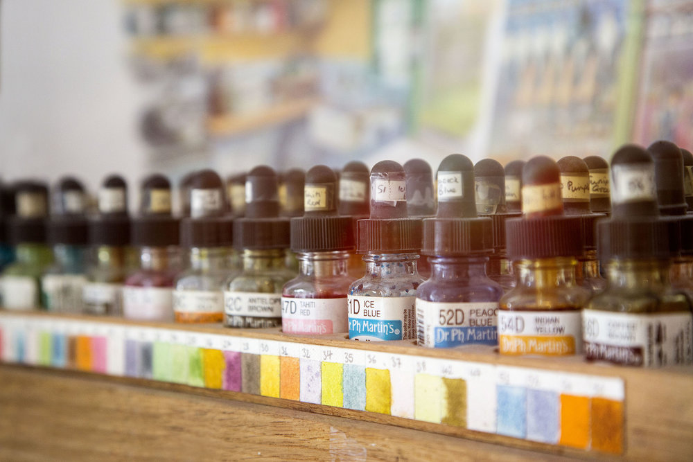 Inks used for  Ethel & Ernest   Lupus Films