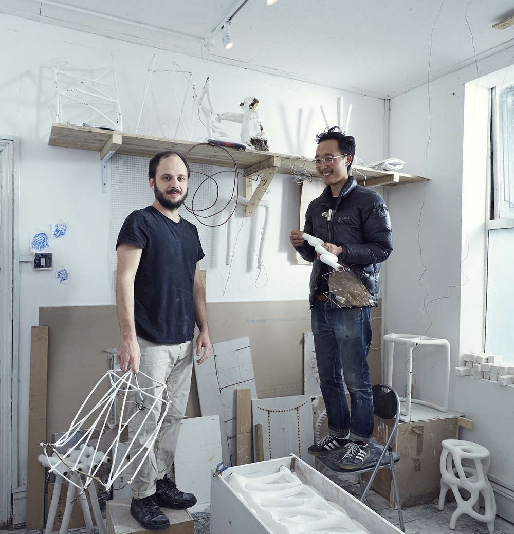 (from left, Fabio Hendry & Seongil Choi)