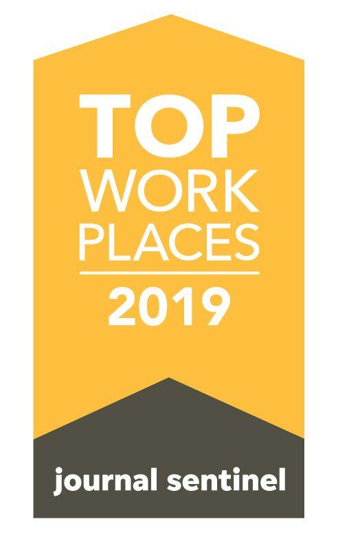 Milwaukee Journal Sentinel  Top Workplace 2019