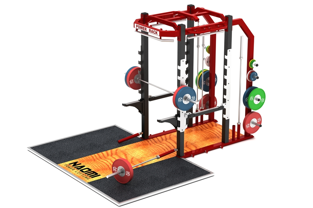 Olympic Power Rack — Naomi Fitness Design