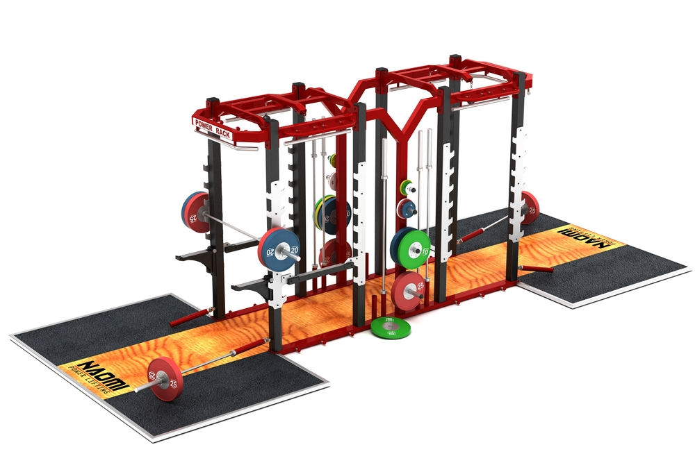OLYMPIC DUAL POWER RACK