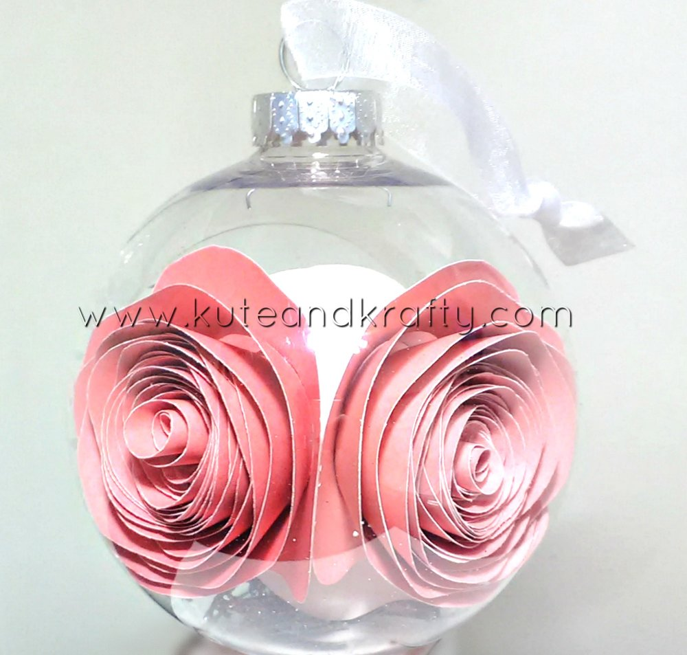 Millennial Pink Ornament- Back