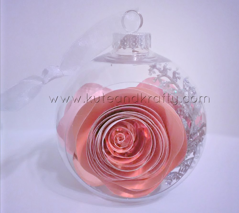 Millennial Pink Ornament - Front