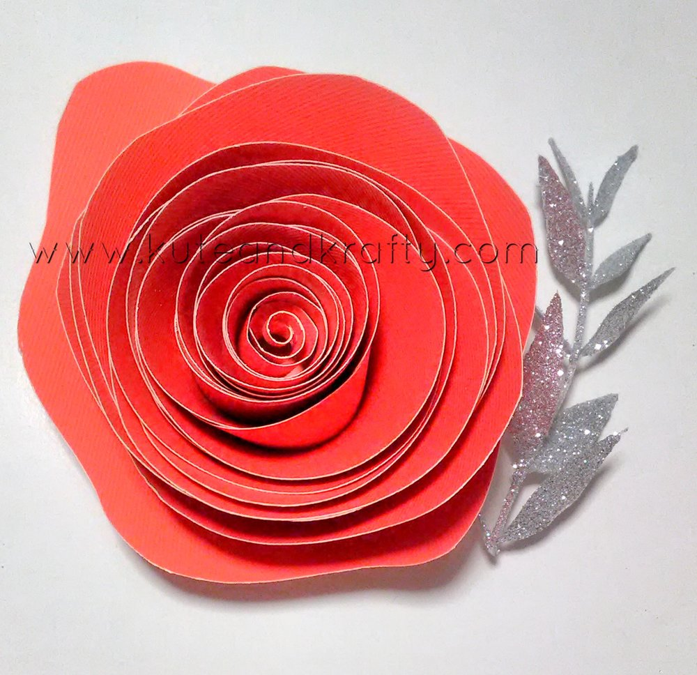 Red Paper Flower