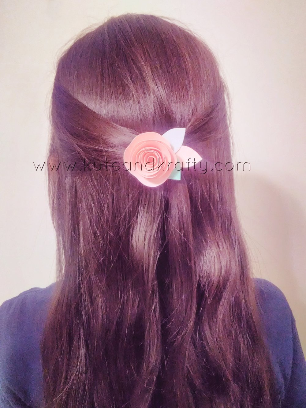 Dusty Rose Hair Barrette.jpg
