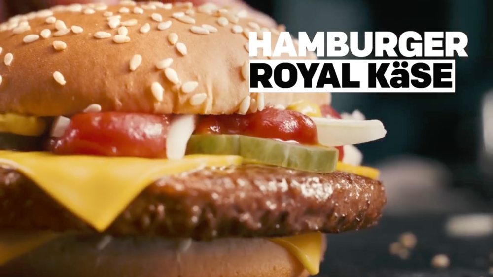McDonalds - SHOT IN HAMBURG. DIRECTED BY NIELS THOMSON. PRODUCED BY THE MARMALDE.GERMAN MARKET.