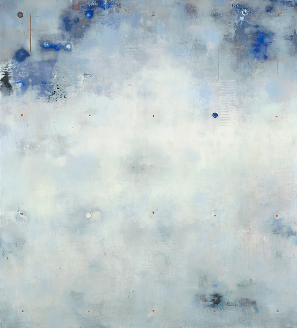 Dust Stories: West,  2014 Encaustic on panel 60 x 54 inches