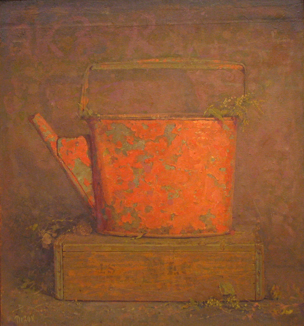 Leika,  2007 Oil on canvas 24 x 26 inches