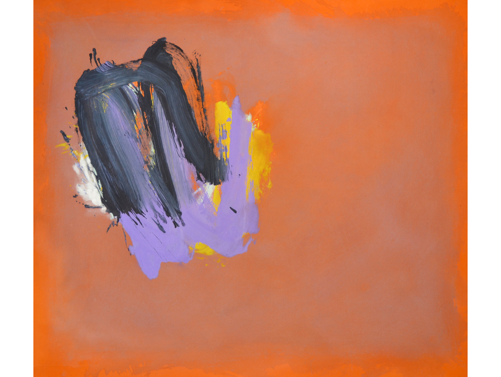 Perne #2,  1978 Acrylic on linen 56 x 64 inches