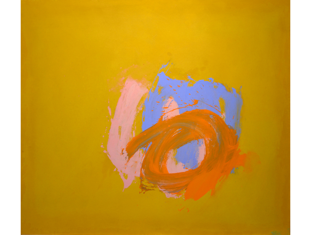 Perne  #12, 1978 Acrylic on duck 57 x 65 inches