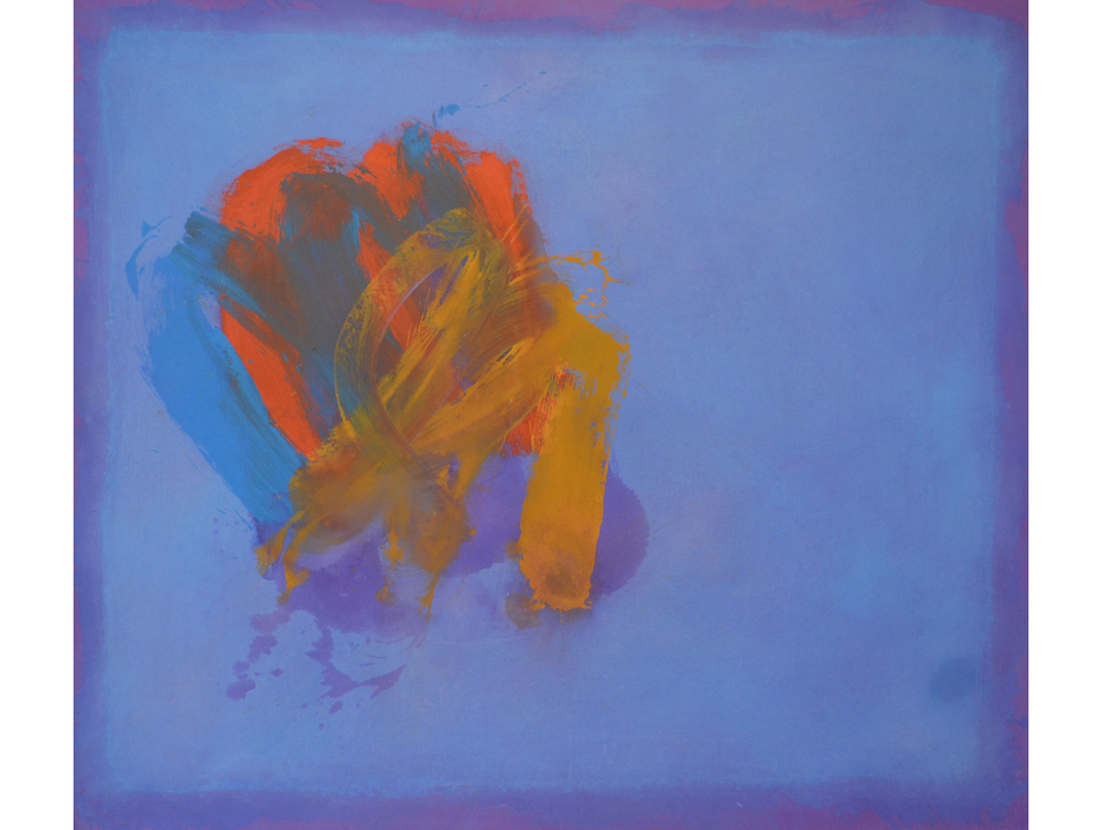 Perne #28,  1978 Acrylic on linen 56 x 64 inches