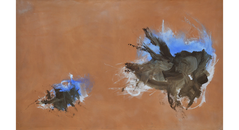 Continuance #1,  1995 Acrylic on canvas 60 x 80 inches