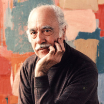 Abstract Expressionist Painter Esteban Vicente