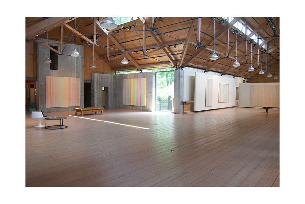 GENE DAVIS AT MORRISON GALLERY, 2015 Installation view