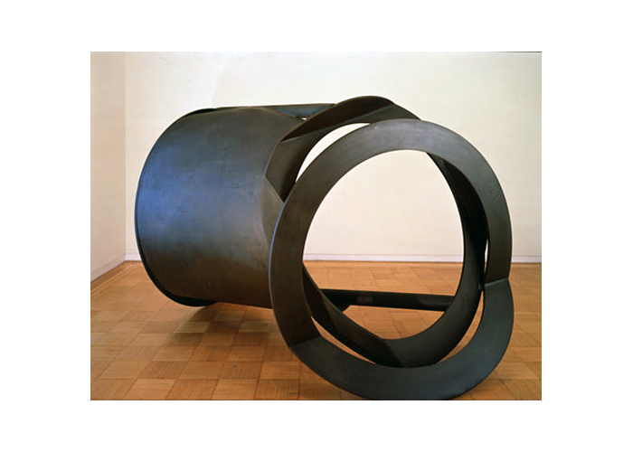 Grosse Fugue,  2005 Steel, unique 72 x 98 x 72 inches