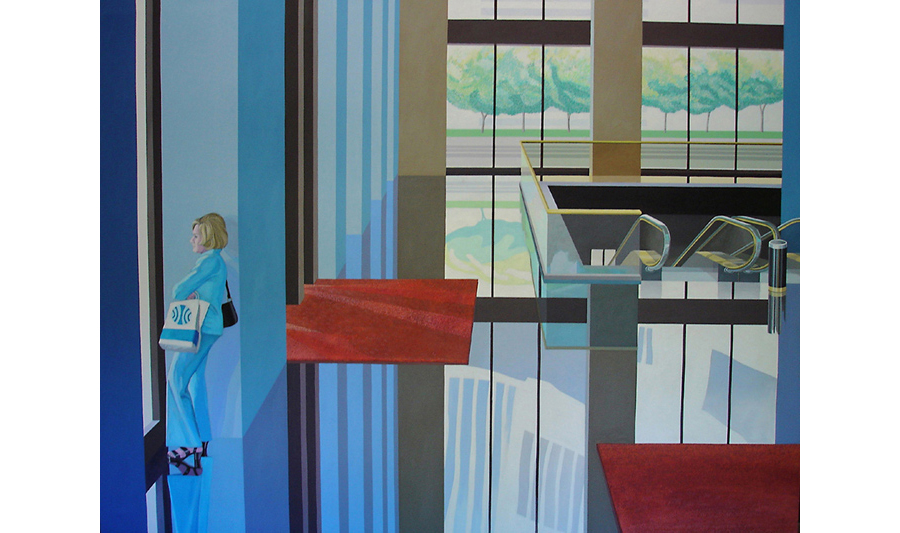 Daydream,  1980 Acrylic on canvas 72 x 108 inches