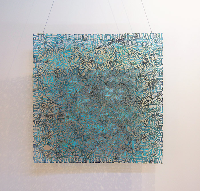 Syntax   Bronze Unique 48 x 48 inches