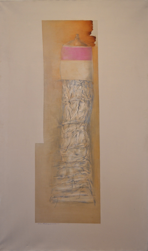 The Cobalt Violet,  1996 Oil on linen 60 x 36 inches