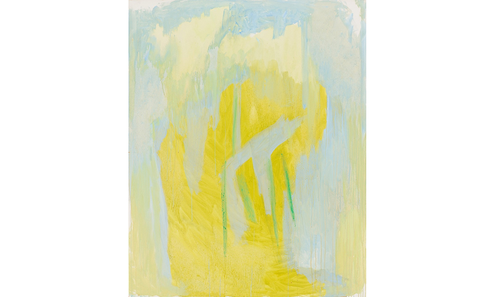 Untitled,  1969 Oil on canvas 52 x 42 inches