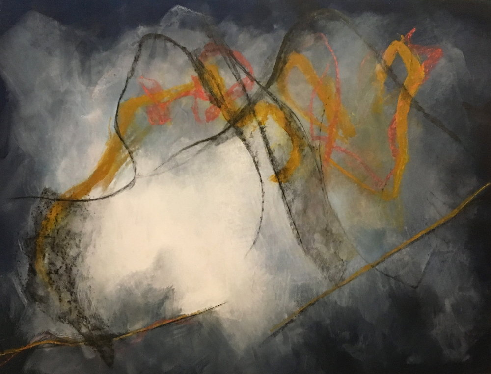 Imaginary Landscape , 1995 Acrylic on canvas 50 x 65 inches