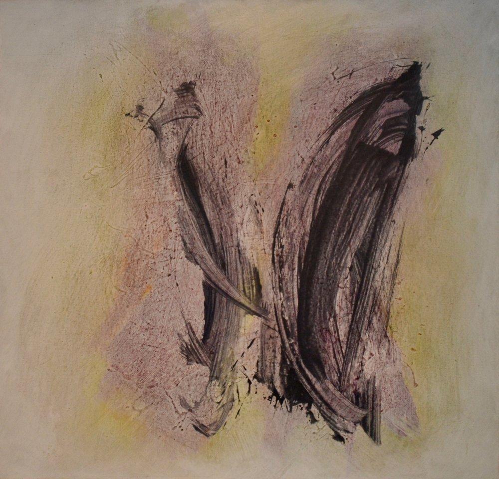 Tu, 1980 Acrylic on canvas 45 x 46 inches