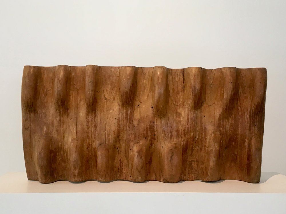Untitled , 1956 Wood 15 x 30.5 x 4.5 inches