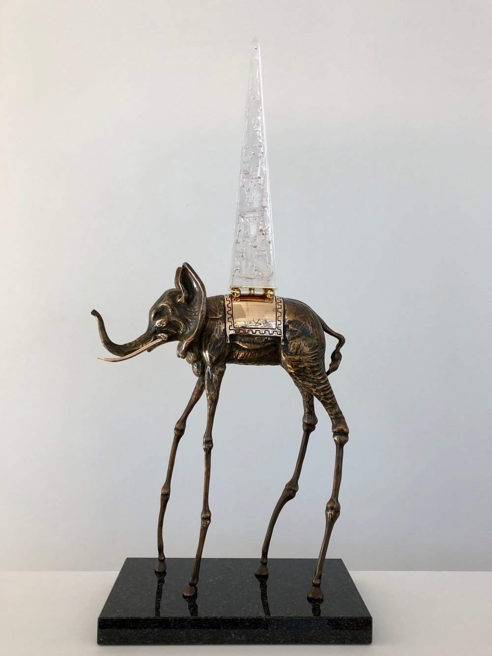 Space Elephant , 1980 Bronze 37 1/127h x 15 95/127w x 8 84/127d inches