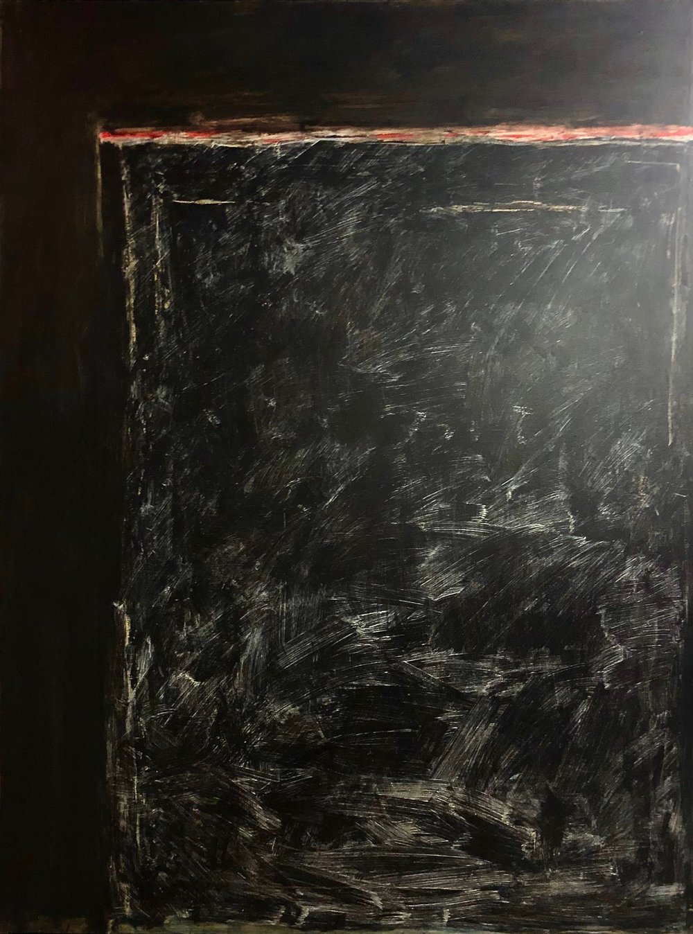 Guadalajara Quartet #127 , 1986 Oil on canvas 80 x 60 inches