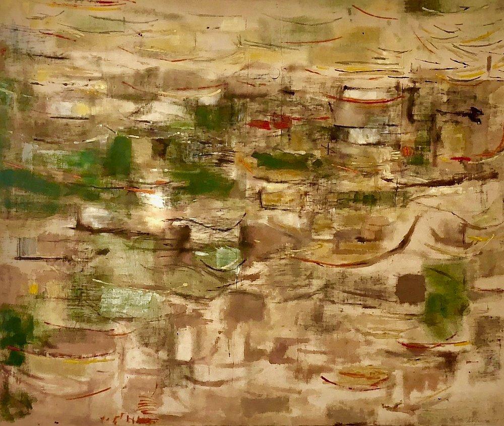 Pinturas (Tlaquepaque, Mexico) , 1951 Oil on canvas 62 x 75 inches