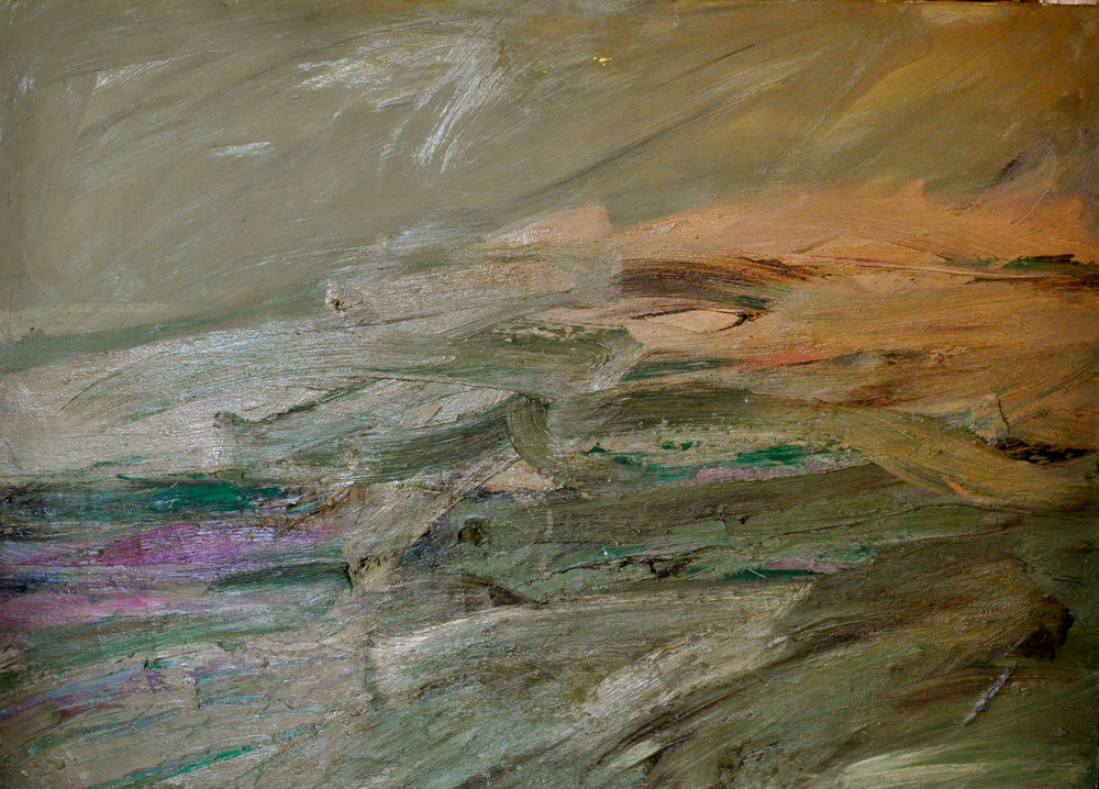 Untitled,  1955-1965 Oil on canvas 62 3/4 x 45 inches MGRS_005