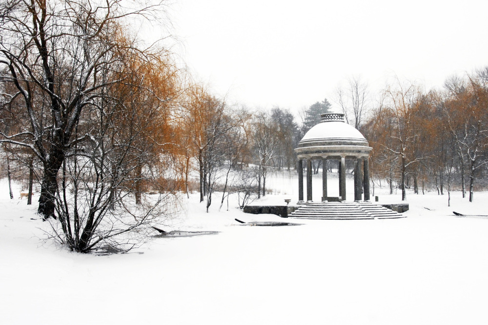 """Temple of Love in Winter Wedding White"" Debra Rose, 3rd Place, 2013"