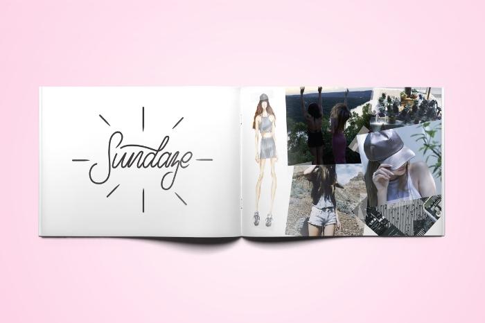 isabella rose taylor spring 2016 lookbook handlettering