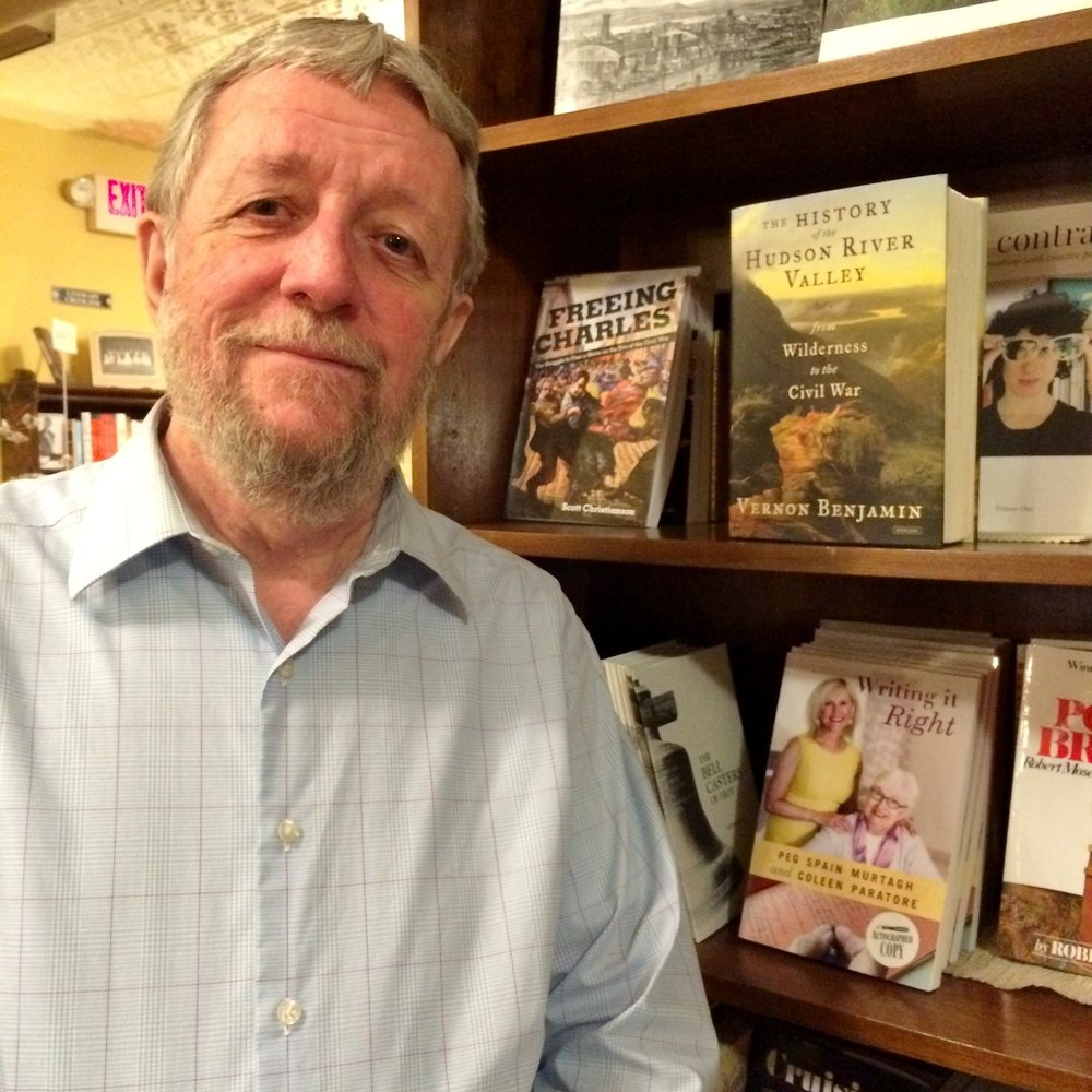 Vernon Benjamin  has a wide range of experience as a writer, journalist, researcher, administrator, public official, consultant, and  advocate. His books,  The History of the Hudson River Valley: From Wilderness to the Civil War  and  The History of the Hudson River Valley: From the Civil War to Modern Times   have sold more than 8,000 copies to date.