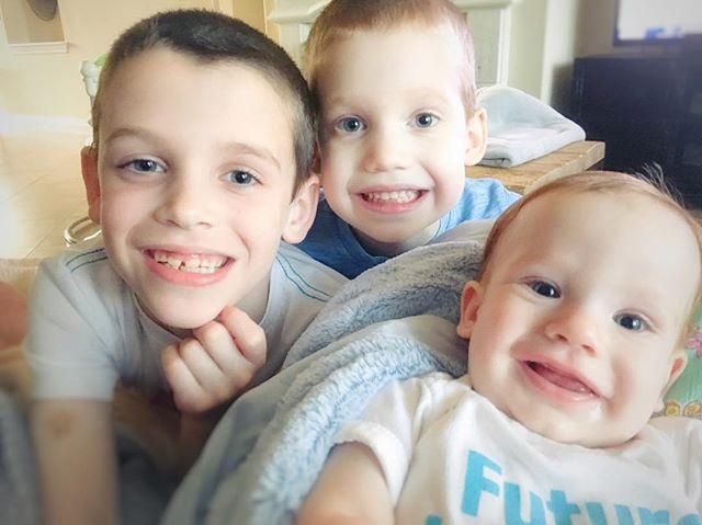 I'm still here👋🏼 Just enjoying these three precious souls. I'll be back to posting soon!