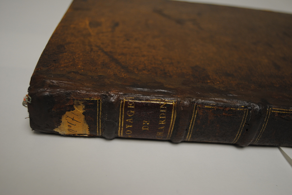 After repair (detail of spine)