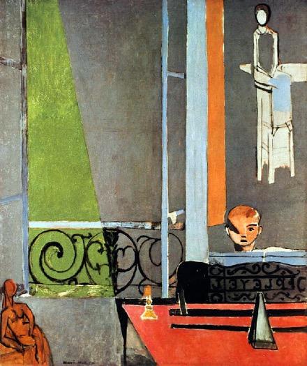 La leçon de piano: Henri Matisse (1916)
