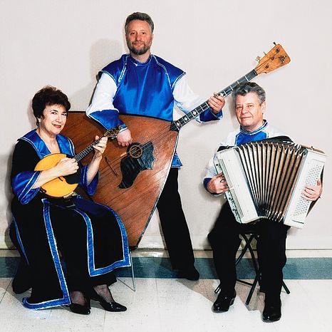 Tamara Volskaya et The Russian trio