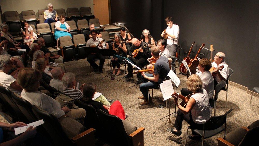 Stage d'Orchestre  de Mandoline et Guitare | Août 2015