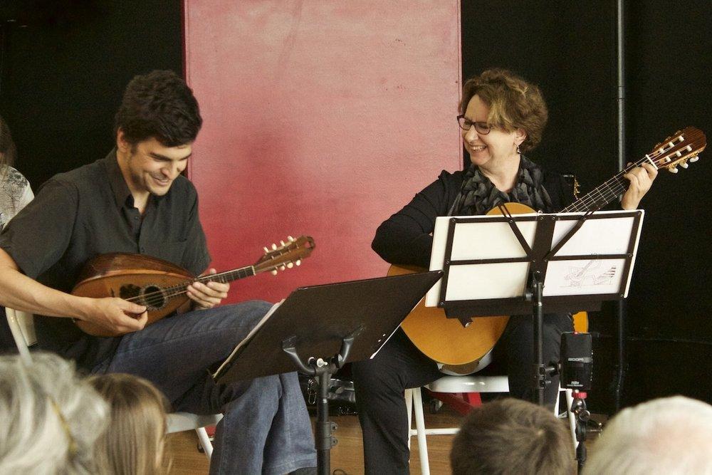 Jonathan Belanger & Diane Dewar at the Student Concert, June 2016