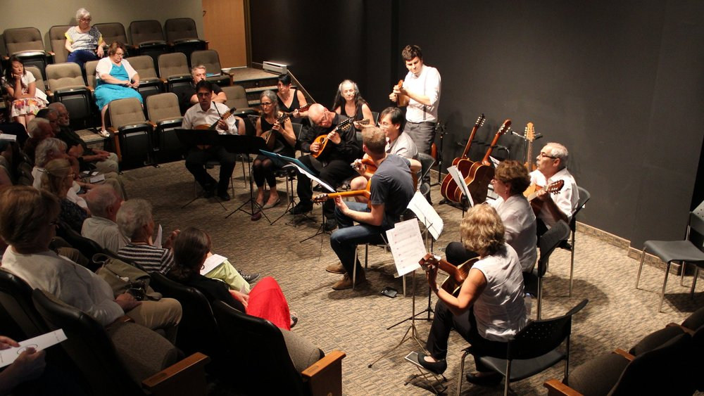 Guitar & Mandolin  Orchestra Workshop  | August 2015