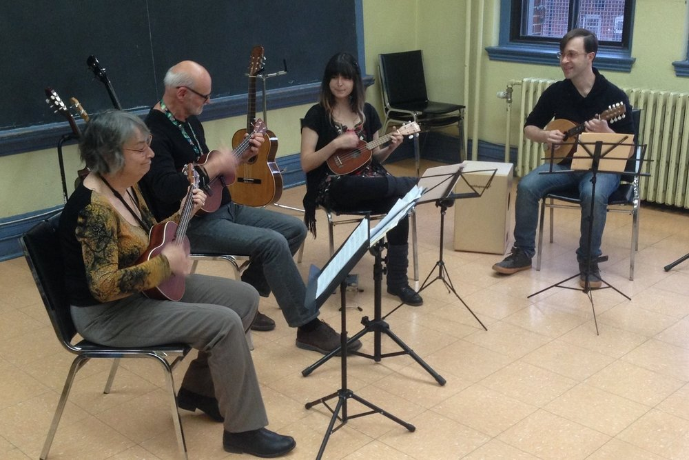 Ukulele Group Lessons  are a great way to learn and socialize.