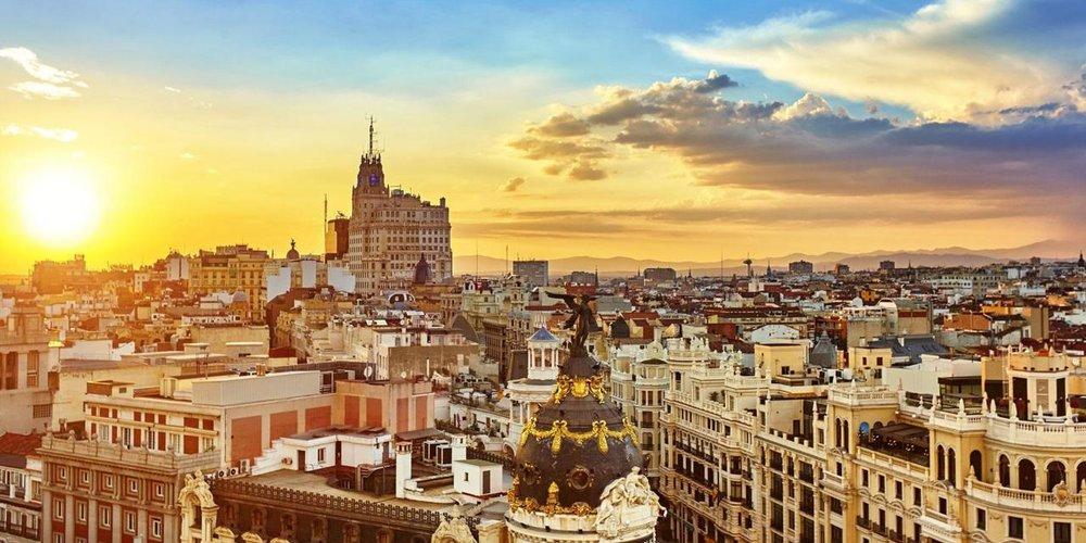 best way to learn spanish madrid skyline.jpg