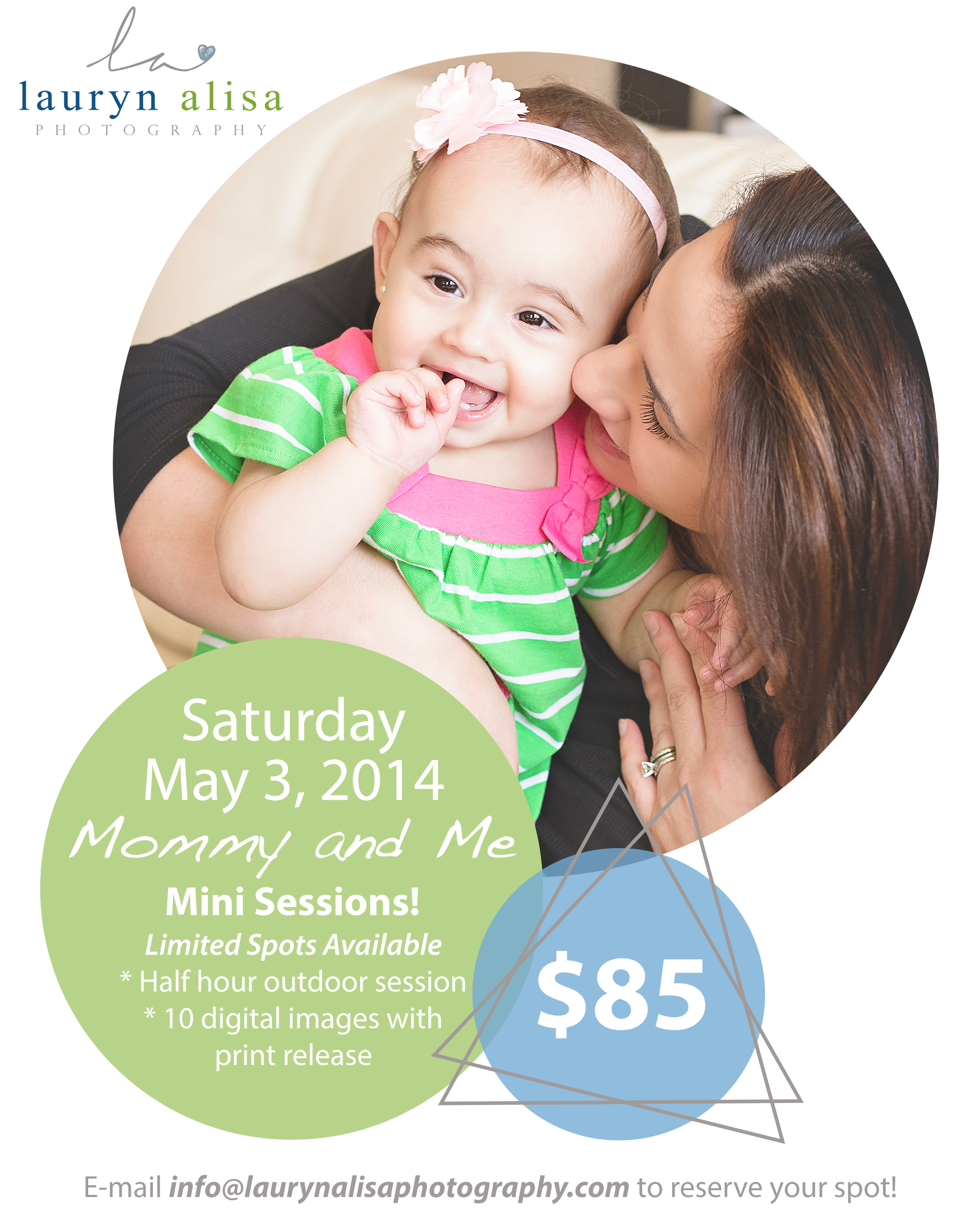 Raleigh NC Mommy and Me Mini Session