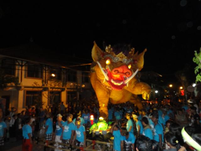 Ubud, Bali, Ogoh Ogoh 2013