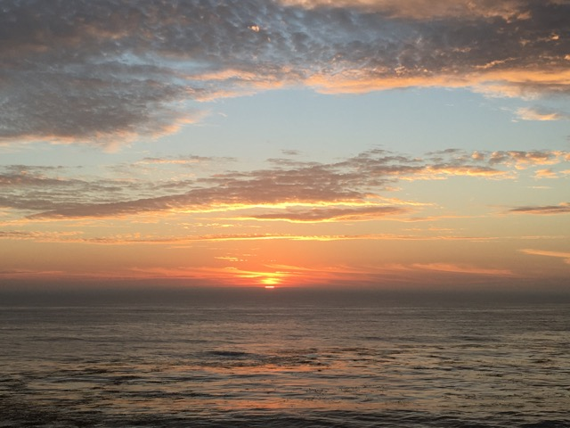 Esalen Sunset Photo: Jane Carleton