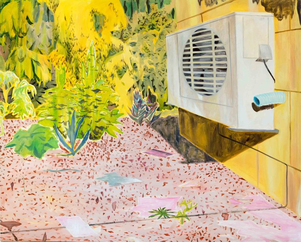 Ecosistema 1, 170x210, oil on canvas, 2014