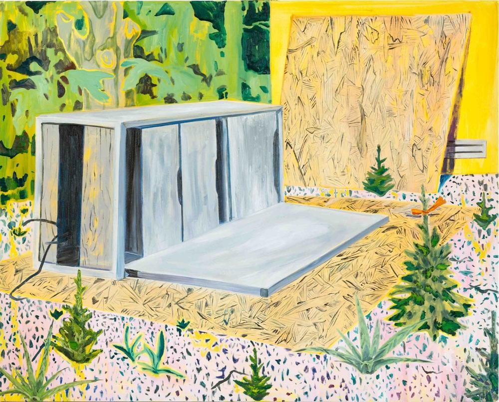 Ecosistema 2, 170x210 cm, oil on canvas, 2014