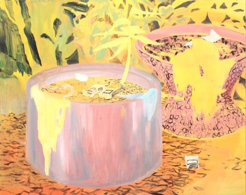 Due Vasi, 80x100cm, oil on canvas, 2014