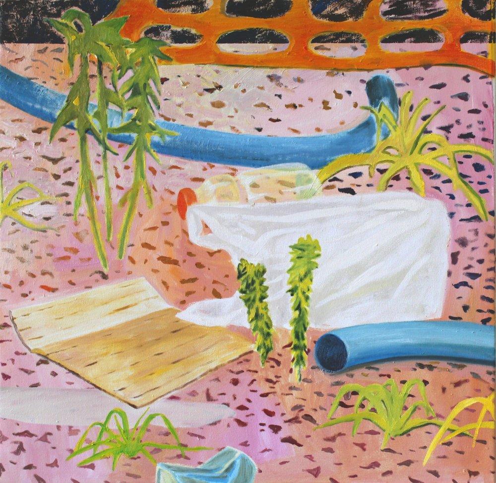 Raymond's variety, 89x89 cm, oil on canvas, 2015