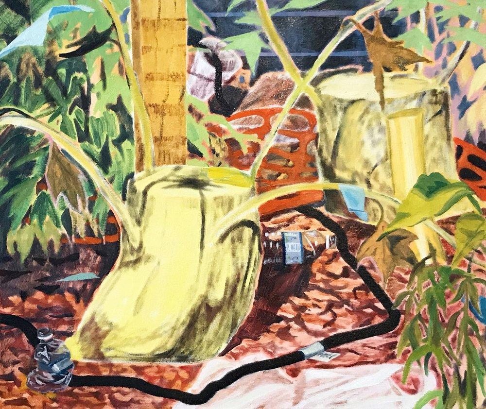 Ephemera Varia, oil on canvas, 97x82cm, 2017